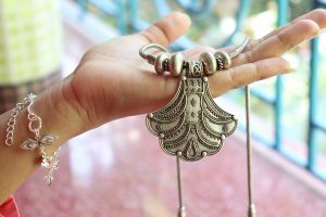 women ornaments and jewelry